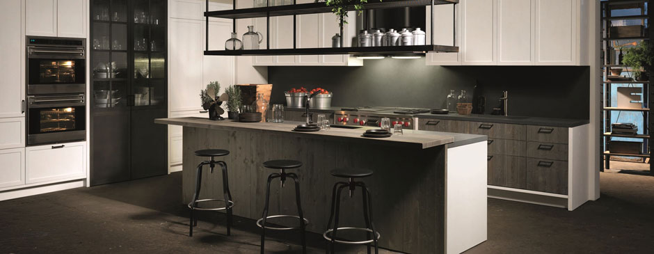 ... Factory Kitchen With Island Aster Cucine 02 ...